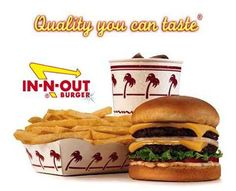 In-N-Out... Best. Hamburger. Ever.