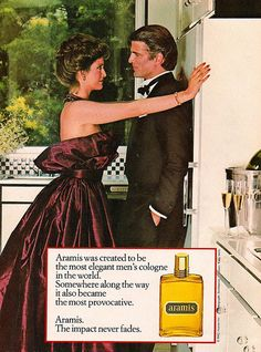 Ted Danson for Aramis cologne, 1983