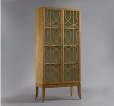 Gate Armoire - French Oak (Dwell Studio) - love this for books or other small things