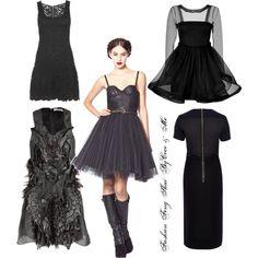 Sorte kjoler ByCoco & Me - Natascha Annett Coco Jensen - Fashion Feng Shui Stylisten <3