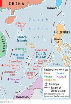 Construction in the South China Sea: Reclamation marks | The Economist