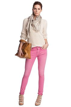 coloured skinny jeans CASUAL - Esprit