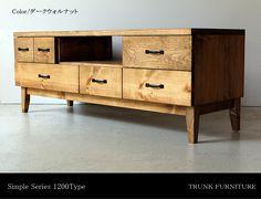【楽天市場】【送料無料】120cm パイン無垢のテレビボード アイアン 天然木 収納 木製 TV台 シンプルデザイン 北欧風 テレビ台:9's Furniture