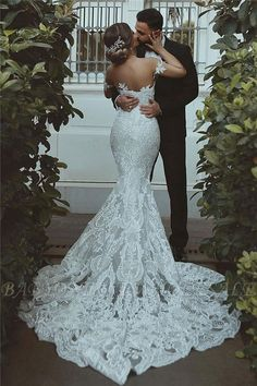 Sexy Mermaid Lace Wedding Dress Cheap Court Train Sweetheart Bridal Gowns with Sleeve Decorations Sweetheart Wedding Dress, Lace Mermaid Wedding Dress, Sexy Wedding Dresses, Gorgeous Wedding Dress, Mermaid Dresses, Cheap Wedding Dress, Bridal Dresses, Backless Wedding, Fitted Lace Wedding Dress Open Back