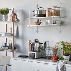 Vestbjerg Dublin Wandrek kopen? shop bij vtwonen by fonQ! Kitchen Island Base, New Kitchen Cabinets, Kitchen Dishes, Small Kitchen Appliances, Cool Kitchens, Kitchen Aide, Kitchen Clocks, Kitchen Decor, Kitchen Design