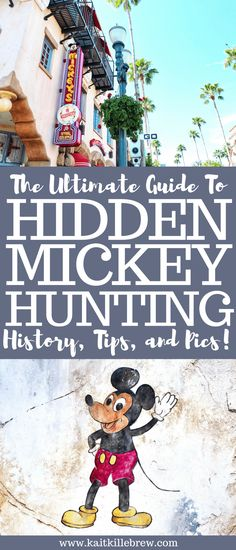 Your Ultimate Guide to Hidden Mickey Hunting No Disney trip is complete without a little Hidden Mickey Hunting. From Tips, to Pics, to Hidden Mickey Hunting Resources, this guide has got you covered! Hidden Mickeys Disney World, Hidden Mickeys Disneyland, Disney World Secrets, Disneyland Trip, Disney World Tips And Tricks, Disney Tips, Disney Fun, Disney Travel, Disney Cruise