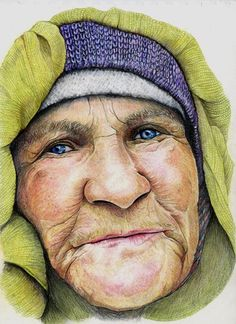 UKCPS - Sue Clinker - Colored pencil