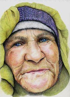 UKCPS - Sue Clinker - Colored pencil