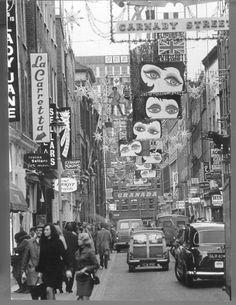 Carnaby Street,1960s.
