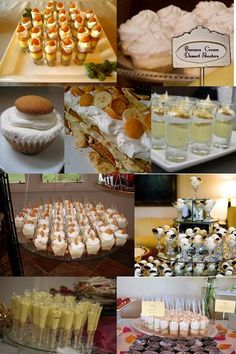 Pudding Shooters - Love this idea! Cake Shooters, Dessert Shooters, Mini Desserts, Just Desserts, Groomsman Cake, The Joy Of Baking, Dirt Cake, Best Party Food, Food Displays