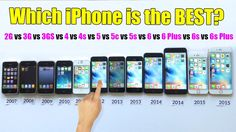 Since 2007, Apple has released 12 iPhone models and here's the most comprehensive review ever made up to the latest modeliPhone 6S Plus. It will also show you which model is best for you. Ge…