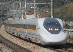 Comboio Shinkansen série 700 - Hikari railstar.  JR West.  Fotografia: Mitsuki-2368.  – Wikipédia, a enciclopédia livre.