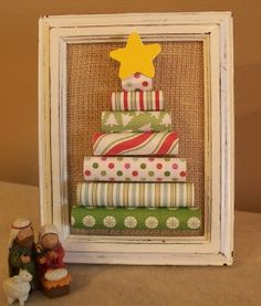 Adventures of a DIY Mom: Rolled Paper Christmas Tree