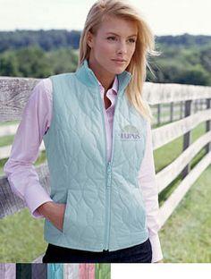 LFA Ladies' Signature Quilted Vest