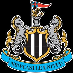 Newcastle United Primary logo diy iron on transfers Newcastle United Wallpaper, Newcastle England, Newcastle Town, Newcastle United Football, Premier League Teams, West Bromwich, Football Pictures, Football Fans, Juventus Logo