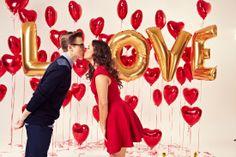 Mcfly's Tom Fletcher and wife Giovanna On Sunday mag Valentine's cover #1.