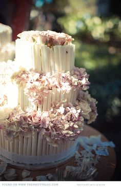 White and Pink wedding cake  #SaltandPaperEvents