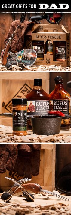 For the barbecue boss! This crate is the perfect gift for my dad. The family's going to eat well come Father's Day! [Sp]