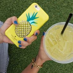 kate spade new york 'pineapple' iPhone 6 case | Spotted on @nordstrom