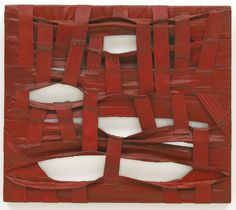 """thunderstruck9: """"Salvatore Scarpitta (American, 1919-2007), Double Halter, 1961. Bandages, staples and mixed media, 19 1/2 x 22 1/2 in. """""""