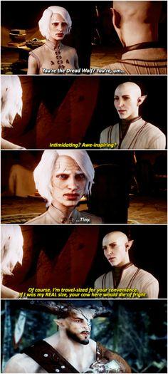 Dragon Age: Inquisition meets Mulan. Oh dear Maker, hahaha!