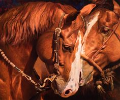 Backstage Jitters by Julie Bell. Original fine art equine oil painting by award winning artist Julie Bell. Prints available. Wildlife Paintings, Wildlife Art, Animal Paintings, Fantasy Paintings, Fantasy Art, Oil Paintings, Painting Prints, Julie Bell, Bell Art