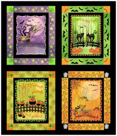 {Wholesale} Witchy Poo, Witchy Poo, rjr1105, Fabric Catalog, Needlecraft, Inc.