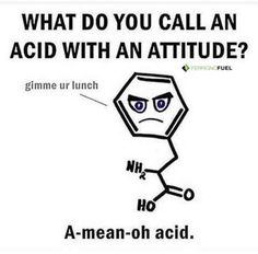 Post with 23 votes and 1773 views. Tagged with funny, science, puns, jokes; Oh how I love you science puns :) Puns Jokes, Nerd Jokes, Corny Jokes, Funny Puns, Memes Humor, Funny Shit, Funny Quotes, Funny Chemistry Quotes, Gym Puns
