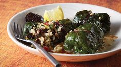 Swiss Chard, Brown Rice and Dried Plum Dolmas Dried Plums, Health Matters, Chef Recipes, Brown Rice, Restaurant, Vegetables, Ethnic Recipes, Food, Style
