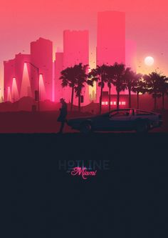 Hotline Miami Posters - Created by Michael Douglas You can check out more of his work on Poster Spy.