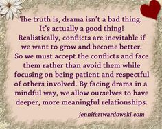 Allow yourself deeper, more meaningful relationships.