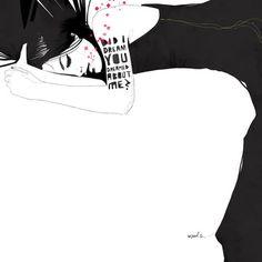Manuel Rebollo's fashion illustrations