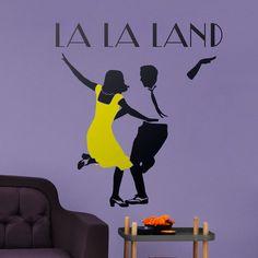 Adesivi Murali: La La Land #cinema #decorazione #deco #StickersMurali