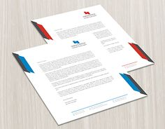 Check Out New Work On My Behance Portfolio Corporate Letterhead