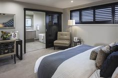 Synergy 32 - Masterton Homes Custom Home Designs, Custom Homes, New Home Builders, Home Bedroom, Bedrooms, Investment Property, Facade, New Homes, House Design