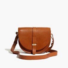 Madewell x Sézane Claude Crossbody Bag in Brown Brown Leather Crossbody Purse, Leather Pouch, Leather Purses, Leather Handbags, Crossbody Bags, Day Bag, Cloth Bags, Shaggy, Women's Handbags