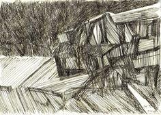 #drawing #illustration #pen #black #line #lines #tarigk #memory #memories