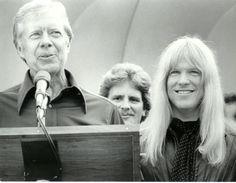 Larry Norman & President Jimmy Carter.