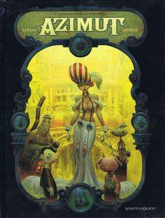 Azimut -1- Les Aventuriers du temps perdu