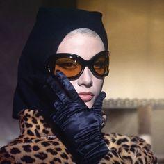 "Marisa Mell in ""Danger: Diabolik"" 1968 Sunnies, Sunglasses, Timeless Beauty, Hollywood Glamour, Vintage Beauty, Unisex, Dress Me Up, Retro, Vintage Looks"