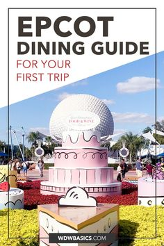 Simple Epcot Food Guide for Your First Visit // WDW Basics // I sifted through all of the Epcot food locations to create this simple guide to Epcot food and restaurants, specifically for first time visitors. Here is a summary of Epcot restaurants so that you can quickly and easily decide where your family may want to enjoy meals. // PIN THIS and TAP TO READ Epcot Restaurants, Epcot Attractions, Disney World Restaurants, Disney Hotels, Walt Disney World Orlando, Disney World Rides, Disney World Characters, Disney World Food, Disney World Vacation Planning