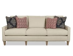 Living Room Sofa Red White And Blue Available At Mooradians Furniture Modern Clic