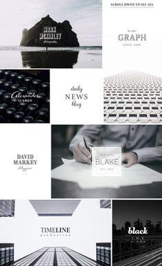 200 Typography Logos Bundle by AgataCreate on @creativemarket  #logo #typography #bundle #kit #set #collection #retro #vintage #business #font #free #font #fonts #badge #circle #text #typo #minimal #clean #feminine #masculine #label #brand #type #hipster #romantic #modern #pack #megabundle # logokit #logobundle #overlay #quotes