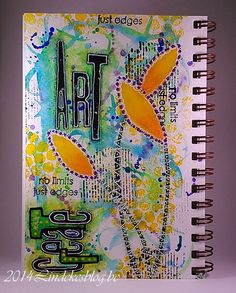 All kinds of shades: Create Art Feel Free - Art Journal
