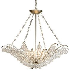 """Curry and Co. Quantum Chandelier  31""""D x 28""""H  $1860"""