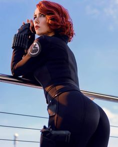 marvel cosplay Black Widow Cosplay by Helen Stifler : ! Marvel Cosplay, Amazing Cosplay, Best Cosplay, Cosplay Black Widow, Black Widow Costume, Scarlett Johansson, Helen Stifler, Hero Marvel, Marvel Dc