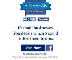 7 Facebook Contest Ideas for Small Businesses : Marketing :: American Express OPEN Forum  - epublicitypr.com