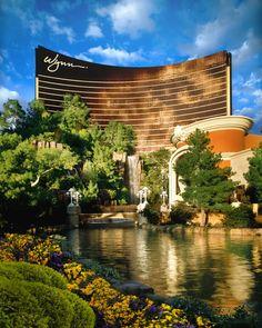 L'Hôtel Wynn, Las Vegas et les jardins de fleurs.
