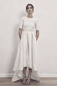 SELMA simple, scandi-cool wedding dress by Maria Fekih