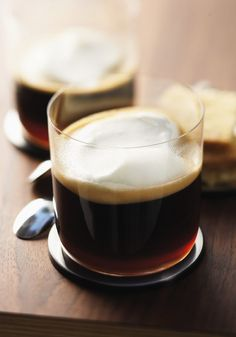 Celebrate St. Patrick's Day in style with this traditional Irish Coffee and Shortbread pairing from Nespresso. The subtle taste of vanilla in this homemade shortbread recipe make this sweet dessert perfect for dipping into your Irish Coffee. Top your coffee with a generous dollop of whipped cream for a delicious way to end your day.